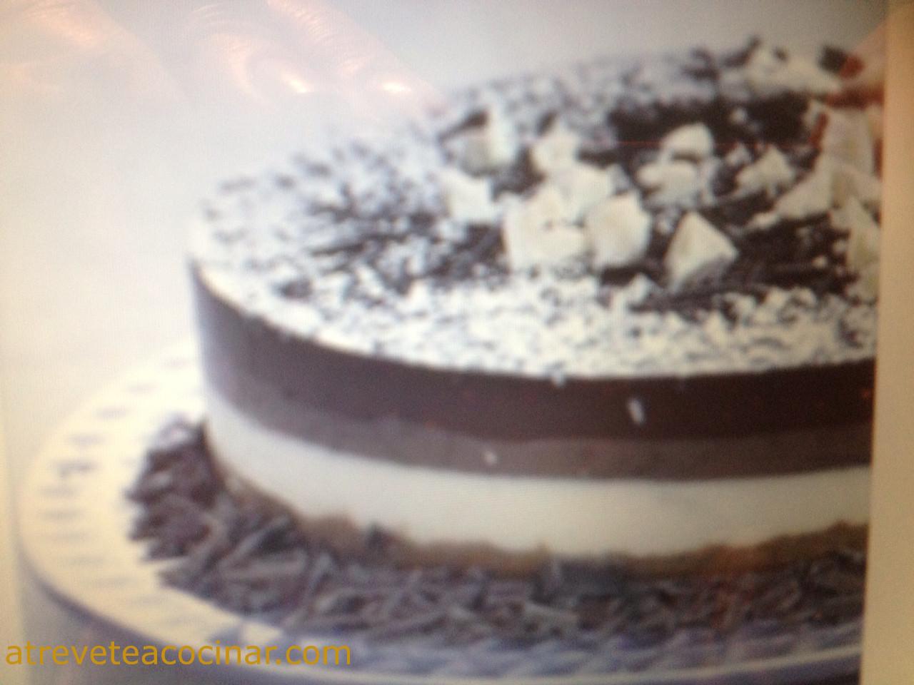 Atr vete a cocinar tarta tres chocolates - Atrevete a cocinar ...