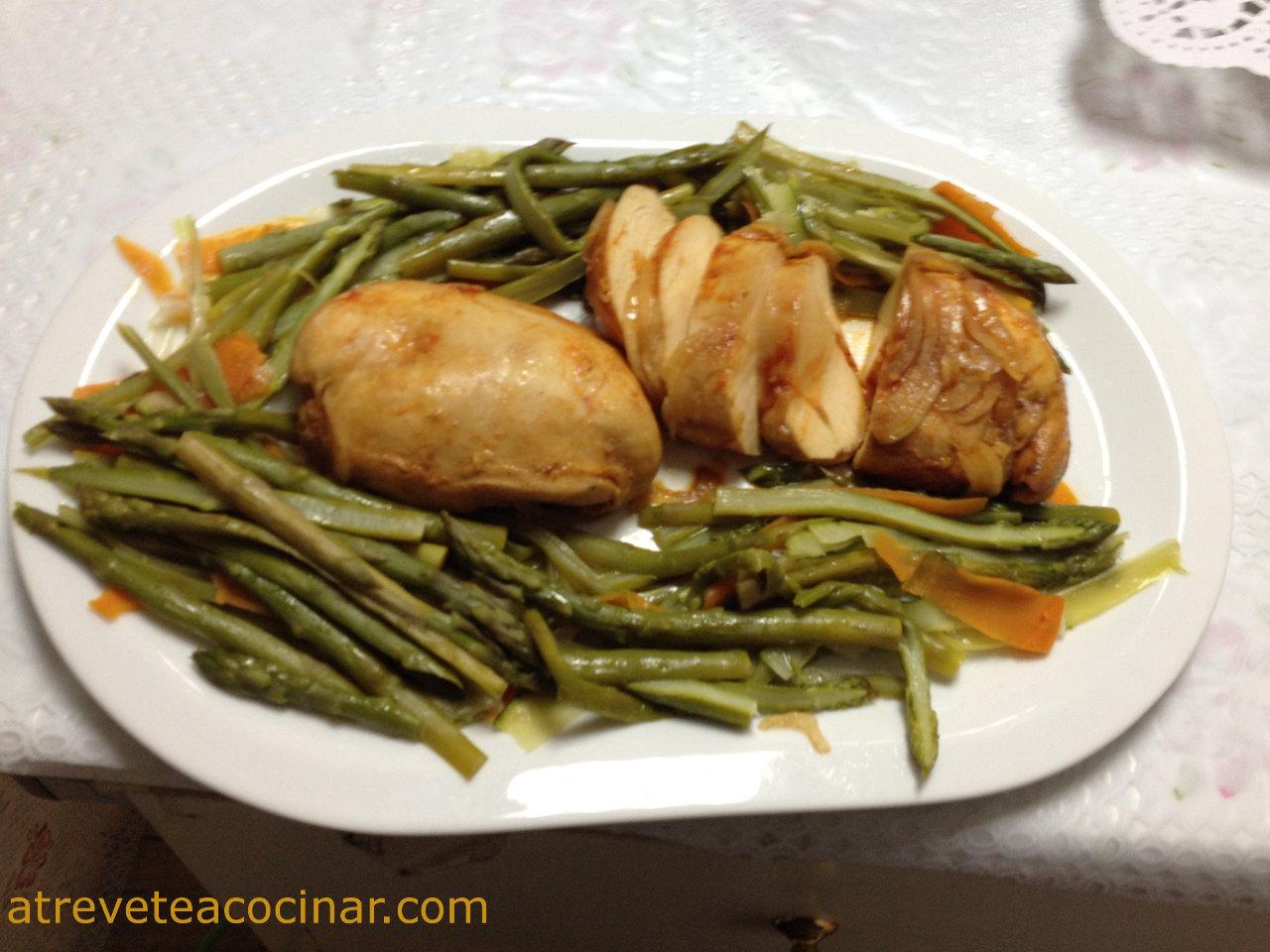 Atr vete a cocinar papillote de pollo a la pimienta con - Atrevete a cocinar ...